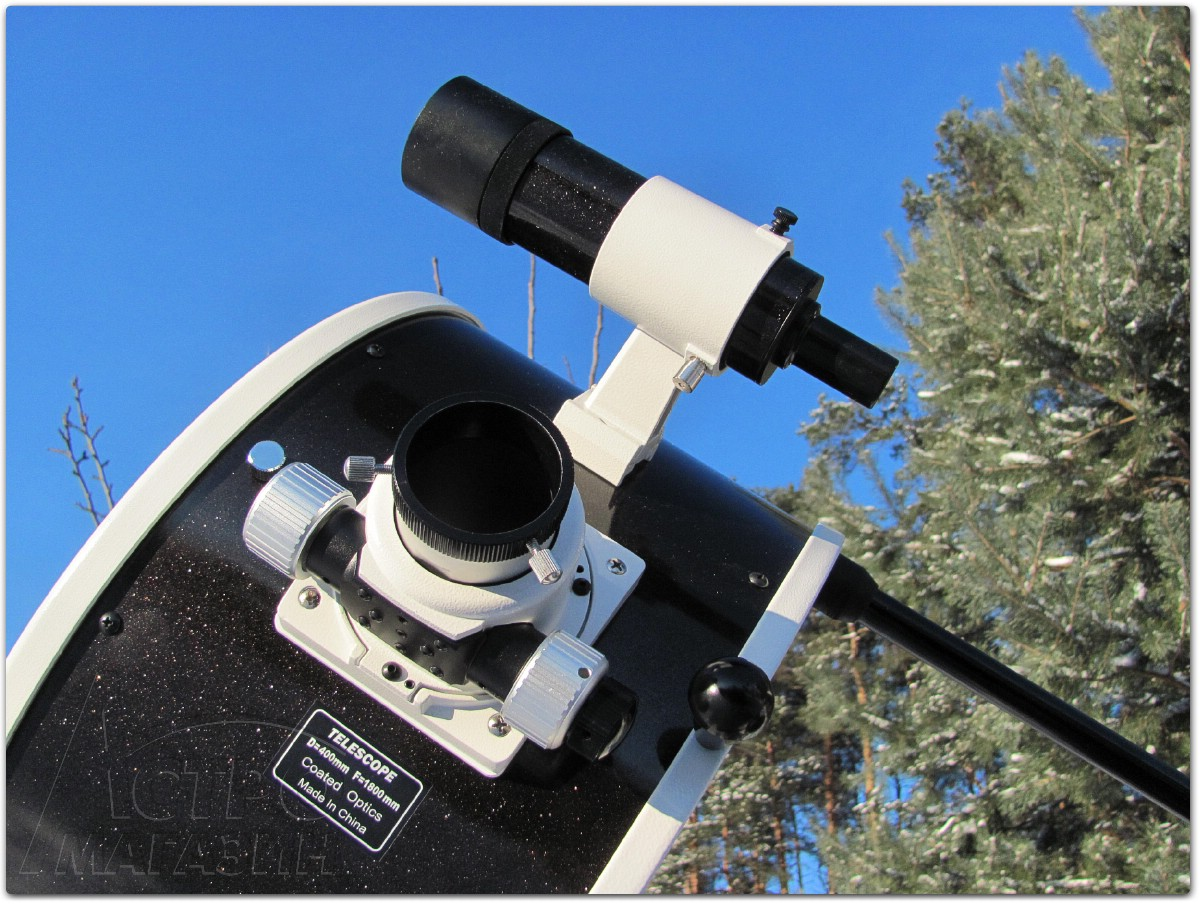 Обзор телескопа Sky-Watcher DOB16 Retractable GoTo